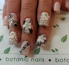 This article is about top bridal Nail art design this article includes 60 top class Different nail designs for bridal which are modern nail designs Bling Nails, 3d Nails, Love Nails, Nails 2017, Beautiful Nail Art, Gorgeous Nails, Pretty Nails, 3d Nail Art, Nail Art Designs