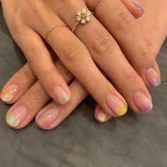 Pastel Nails, Cute Acrylic Nails, Cute Nails, Pretty Nails, Pretty Short Nails, Cute Simple Nails, Perfect Nails, Nagellack Design, Nagellack Trends