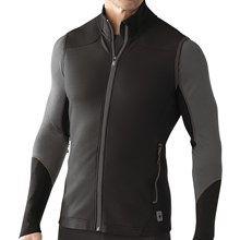 SmartWool PhD HyFi Midlayer Vest - Merino Wool (For Men) in Black - Closeouts