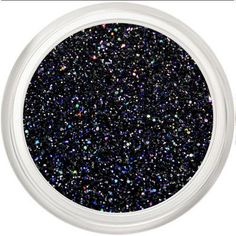 Black Iridescent Glitter Makeup, Black, Navy Holo Cosmetic Glitter... (85 ARS) ❤ liked on Polyvore featuring beauty products, makeup, lip makeup and lipstick