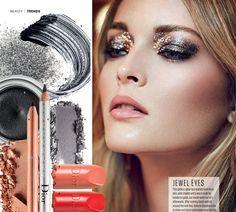 After Dark Beauty Editorials : Red UK December 2013