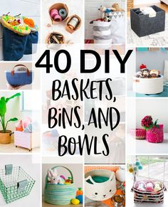 DIY your organization bins to organize your DIY things. Toy Containers, Craft Storage Containers, Craft Storage Solutions, Diy Storage Boxes, Storage Ideas, Craft Storage Furniture, Furniture Plans, Toy Box Plans, Diy Toy Box