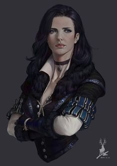 Yennefer of Vengerberg Fan Page Yennefer Witcher, Yennefer Cosplay, Witcher Art, Yennefer Of Vengerberg, Dnd Characters, Fantasy Characters, Female Characters, Fantasy Women, Fantasy Girl