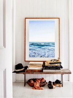 Kara Rosenlund Print - Framed beach Photography