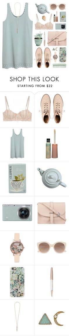 """""""010617"""" by rosemarykate ❤ liked on Polyvore featuring Elle Macpherson Intimates, ASOS, Paul & Joe, CO, Samsung, M.N.G, Olivia Burton, Witchery, Casetify and Swarovski"""