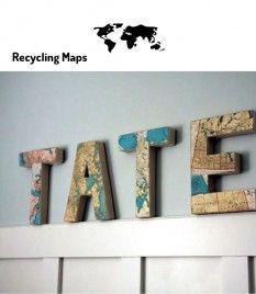 DIY-recycling maps