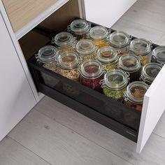 Kitchen Organisation, Organisation Hacks, Kitchen Interior, Room Interior, Apartment Hacks, The Home Edit, Small Living, Modern Living, New Room