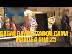 PEGADINHA - CASAL GAY TESTANDO CAMA - MANDE A SUA #25