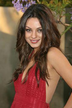 Mila Kunis. Loving her hair.