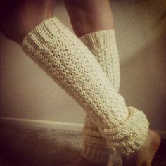 "Free pattern for ""Draft Dodger Leg Warmers""!"