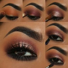 repost from @hellofritzie step by step pictorial for previous look Using all @motivescosmetics pressed eye shadows by @lorenridinger -apply motives eye base all over eye lid -apply HEATWAVE above the crease as transition shade -apply JUICY PLUM on the crease and blend -apply BEDROOM EYES on the lid -apply LBD gel line on the waterline -apply OBSESSION on the lower lash line  @houseoflashes #Boudoir  @tartecosmetics amazonian brow mousse in rich brown Brushes: @makeupaddictioncosmetics…