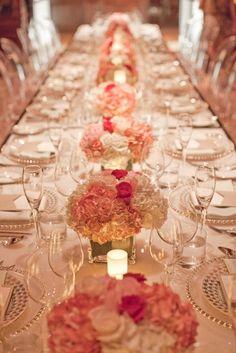 ideas decoración boda en rosa. #BodaRosa #DecoraciónBoda índigo Bodas y Eventos  www.indigobodasyevetnos.com