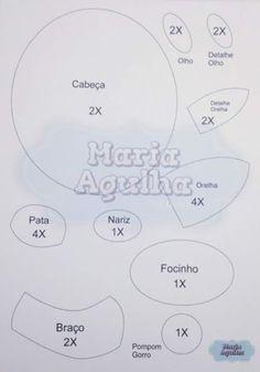 Feltro Fácil: Guirlanda Rena Fofa em Feltro!
