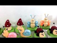 PAP jardim encantado facil biscuit - YouTube