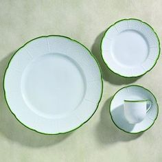 Different take on the white basket pattern - Villandry Green