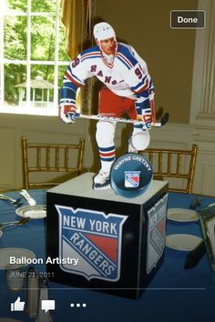 Centerpiece... do one of each player on team
