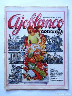 Coleccionismo de Revistas y Periódicos: AJOBLANCO LOTE DE 28 REVISTAS (1975/1977/1978+ NUEVA ÉPOCA (1988/1992)VER FOTOS Y DESCRIPCIÓN - Foto 18 - 67251977