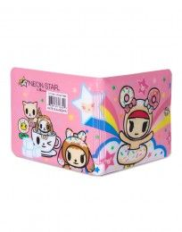Neon Star by tokidoki Donutella's Little Sister Vinyl Wallet