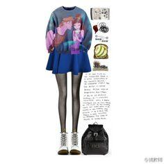 2014#Women #Blouse Cartoon Blouse Sweater Collection,Fantastic Sweater +Short Skirt for Girls, Disneyland Glamour