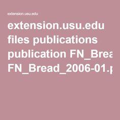 extension.usu.edu files publications publication FN_Bread_2006-01.pdf
