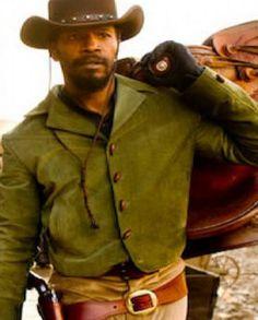 Django Unchained Jamie Foxx Stylish Men Jacket