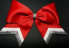 Resultado de imagen para cheer bows how to make