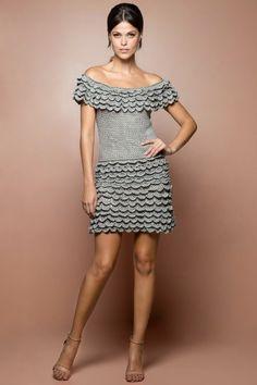 Strawberry Gold Coast Crochet Dress - Vanessa Mont - vanessamontorolojausa