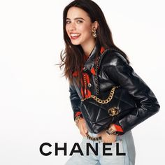 "CHANEL on Instagram: ""The CHANEL 19 bag — actress Margaret Qualley stars in the latest campaign imagined by Sofia Coppola and photographed by Steven Meisel.…"""