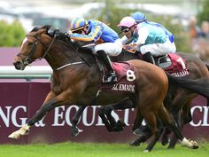 Gleneagles puts the squeeze on his rivals to lose out in thestewards room at Longchamp.