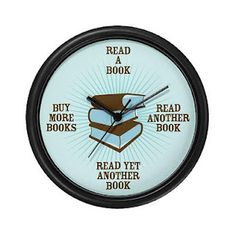 It's always time to read a book.
