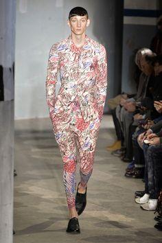 Comme Des Garcons Menswear Fall 2015 Paris