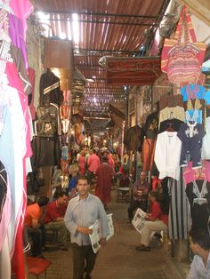 Souk in Marrakech
