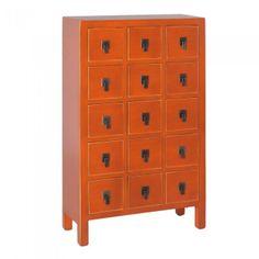 Aparador cajonera verde mueble chino muebles chinos y for Muebles orientales madrid
