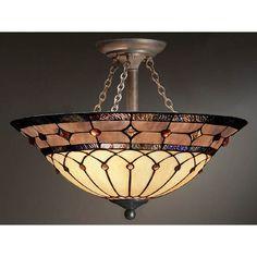 Dunsmuir Semi-Flush Ceiling Light