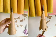 Fall Crafts, Crafts For Kids, Diy Crafts, Art Classroom Decor, Classroom Organization, School Bus Party, Giant Pencil, Making Crayons, Pink Cards
