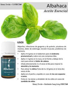 Aceite esencial Albahaca. Young Living