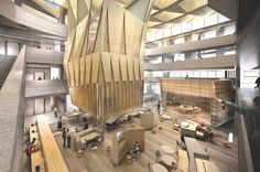 University of Melbourne, Faculty of Architecture Building and Planning, John Wardle Architects and NADAAA