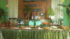Birthday table arrangements Ideas for 2019 Birthday Decorations For Men, Fiesta Party Decorations, Fiesta Theme Party, Birthday Gifts For Kids, Christmas Party Decorations, Party Themes, Buffet Set Up, Buffet Tables, Filipiniana Wedding Theme