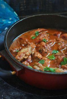 Dahi Chicken recipe, Chicken in Yogurt Curry - Fa's Kitchen