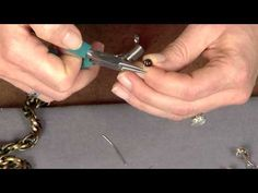 ▶ 1905-4 Beads, Baubles & Jewels host Katie Hacker creates 3 different style stacking bracelets - YouTube