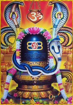 shiv ling with flowers Shiva Shakti, Rudra Shiva, Shiva Parvati Images, Hanuman Images, Shiva Hindu, Lord Shiva Hd Images, Hindu Art, Hindu Deities, Arte Shiva