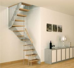 Stairs for small spaces