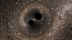 Einstein was right. Breaking news on gravitational waves. They are converting it to sound. Scientists say they heard the faint chirp of two black holes colliding a billion light-years away, fulfilling Einstein's general theory of relativity. No Wave, Cosmos, Stephen Hawking, Gravity Waves, Nobel Prize In Physics, Gravitational Waves, Neutron Star, Prix Nobel, Interstellar