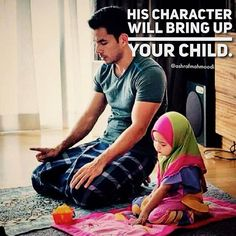 When a man has knowledge of Deen, he can lead his family with respect. When a woman has knowledge of Deen, she can lead her children in humility. When children have knowledge of Deen, they can lead their parents to Jannah. ❤ When you choose a wife/husband, you are choosing a parent, teacher & role model for your future children. Choose wisely. Beauty and money is not everything! ❤