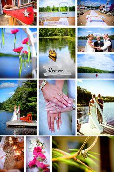 Toronto wedding studio www.quarum.com travels to Muskoka