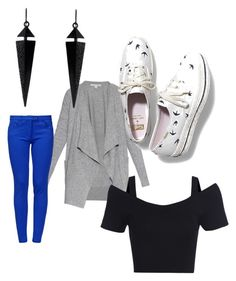 """""""Normal day"""" by kennedy-bernard ❤ liked on Polyvore featuring moda, Diane Von Furstenberg, Oasis, Keds y Boutique Moschino"""