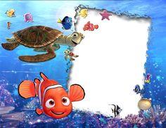 Marco digital para fotos infantiles inspirado en Nemo Marco Digital, Cheap Picture Frames, Magnetic Photo Frames, Baby Frame, Famous Cartoons, Cartoon People, Disney Tips, Disney Wallpaper, Baby Disney
