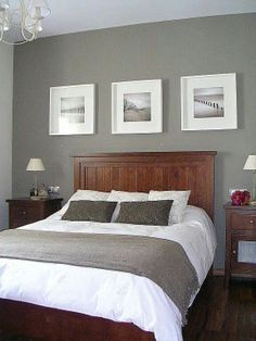 Bedroom Inspiration Dark Feature Wall To Match Dark Carpet Casa