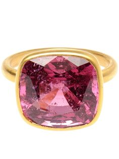 Marie Helene De Taillac Large Spinel And 18K Gold Ring