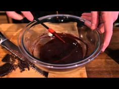 How to Make Molten Chocolate Cakes. Gooey goodness perfect for Valentine's Day or any day really.